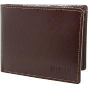 Leather Wallet Analine Coffee