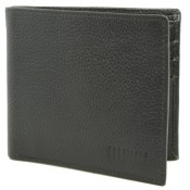 Leather Wallet Owlt 0321 Ndm Black