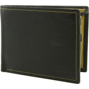 Leather Wallet Owlt 0263 Ndm Blk Grn