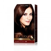 HairX TruColour - 4.54 Deep Mahogany Copper 125ml