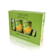 Nature Secrets Refreshing Pedicure Set Nettle & Lemon 4pcs