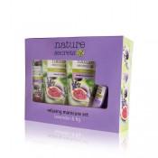 Nature Secrets Relaxing Manicure Set Lavender & Fig 4pcs