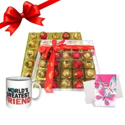 Chocolate Truffles With Mug...