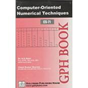 ComputerOriented Numerical Techniques