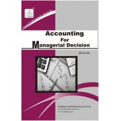 Accounting For Managerial Decision