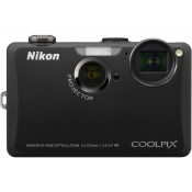 Nikon Coolpix S1100PJ Point & Shoot Camera Black