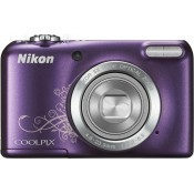Nikon Coolpix L27 Point & Shoot Camera Design Purple