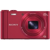 Sony CyberShot DSC-WX300 Point & Shoot Camera Red