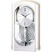 Rhythm 4RP745WT19 Analog Clock Silver