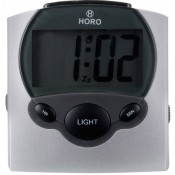 Horo HD028-001 Digital Clock Gray