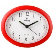 Horo HR099-001 Analog Clock Red