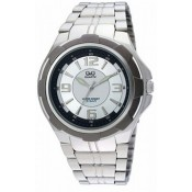 Q&Q Fiber Collection Analog Watch - For Men Silver