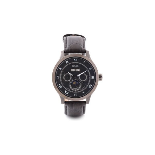 timex automatic sport luxury analog for brown