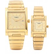 Timex Formals Analog Watch - For Couple Gold