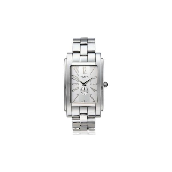 balmain swiss analog watch for men silver