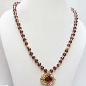Honey crystals Neckpiece