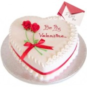 Valentine Vanilla Cake
