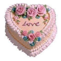 Valentine Pine Cake