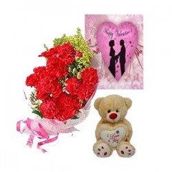 Valentine Carnations