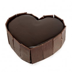 Heart Out Chocolate Cake -...