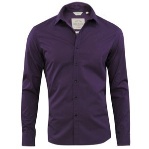 John Players Casual shirt -Royal Purp