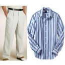 Trouser and Strips Shirt