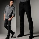 Black Cotton Pant for Men