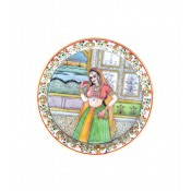 Marble Lady Plate
