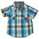 Turq Check Shirt