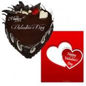 Valentine BlackForest cake