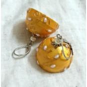 Yellow Stylish Earring