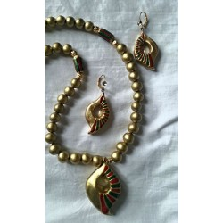 Golden Beads Terracotta Set