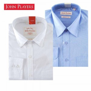 John Players - A Set of Essential Formal and Smart Casual Shirt
