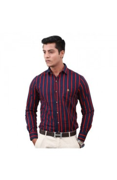 Multi Color Mufti Formal Shirt