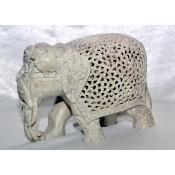 Stone under cut Royal Elephant 5''