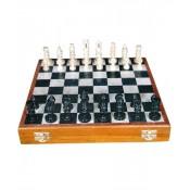 """Stone Chess Board Box 12"""""""