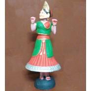 Beautiful Thanjavur thalaiyatti Bommai (head-nodding doll)
