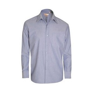 John Players Formal Shirt-True Blue