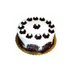 Black Forest Eggless Cake (Donuts)