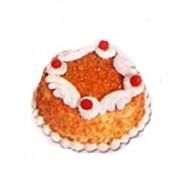 Butter Scotch Eggless Cake (Donuts)