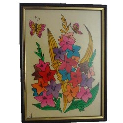 Pretty Floral wall hanging