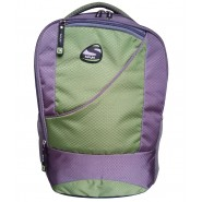 SPYKI Green & Grey Awesome Laptop Backpack Bag