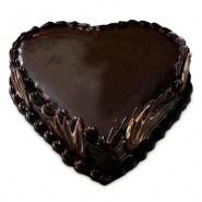 Heart Shaped Choco Truffle 1 kg (Berry N Blossom)