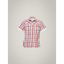 Levis Kids Boy's Grey Red Shirt
