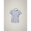 Levis Kids Boy's Grey Blue Shirt
