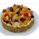 Fruit Gateau Cake - 1 kg (K.R.Bakery)