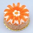 Orange Gateau Cake - 1 kg (KR Bakery)