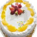 Pineapple Cake - 1 kg (K.R.Bakes)