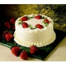 Strawberry Cake (Oven Fresh)