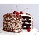 Black Forest Eggless Cake (Oven Fresh)